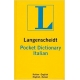 Langenscheidt's Pocket Dictionary Italian