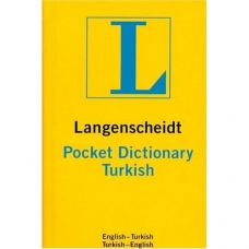 Langenscheidt Pocket Dictionary Turkish