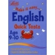 Make it easy English Quick Tests age 9-10