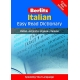 Italian Easy Read Dictionary It-En / En-It