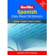 Spanish Easy Read DictionarySP-En / En-SP
