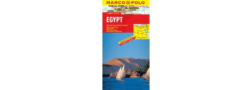 Marco Polo Egypt Map